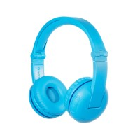 Детски слушалки BuddyPhones PLAY GLACIER – Bluetooth, сини