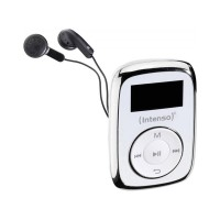 MP3 плейър Intenso MUSIC MOVER 8GB, бял