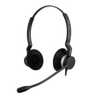 Слушалка с микрофон Jabra BIZ 2300 Duo, USB, UC